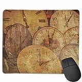 Gaming Mouse Pad Uhr Antike Pfeil Mousepad Rechteck Mauspads Matte Für Computer Laptop Schreibtisch