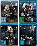 Die Brücke - Transit in den Tod: Staffel 1-4 [Blu-ray]