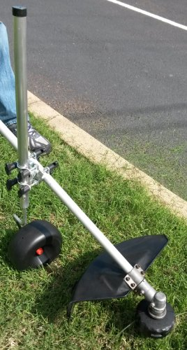 Trimmer Caddy: Support Attachment for Weed, Grass, Lawn, String Trimmers