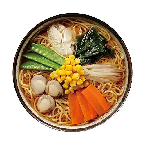 高砂食品 青森ほたてみそラーメン 家庭用10食入り(5食×2パック) 半生麺【常温保存可能】