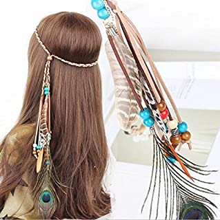 hippie hair accessories