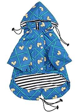 1. [Wasserdicht] Wasserdichtes Nylon. Dieser Mantel ist sehr gut für Spaziergänge im Freien im Herbst und Winter geeignet und hält Ihren Hund trocken, warm und vor allem sauber. Machen Sie sich keine Sorgen über regnerische Tage! 2. [Verstellbarer Ri...