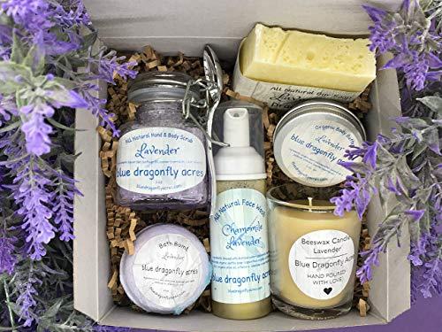 Lavender Spa Gift Box - Birthday/Mothers Day Gift basket