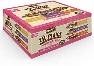 Merrick Lil Plates Mini Medley Wet Dog Food Variety Pack - (12) 3.5 Oz. Tubs