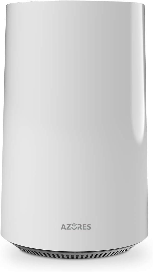 AZORES AX1500 Smart WiFi 6 Wireless Router, 4 Gigabit LAN Ports, Dual Band AX Router, Beamforming, OFDMA, MU-MIMO, Parental Controls