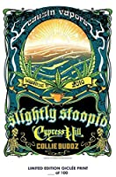 LostポスターRareポスターThick Slightly Stoopid Legalize It Summer Tour Cypress Hill再印刷# ' d / 100!!12 x 18