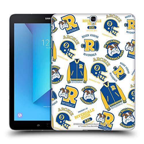 Head Case Designs Oficial Riverdale Patrón Bulldogs & Vixens Gráficos 2 Carcasa rígida Compatible con Samsung Galaxy Tab S3 9.7