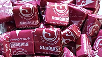 Starburst Fave Reds - Fruit Punch Starburst 2 Pounds