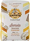 6 x Caputo Il Mulino di Napoli Semola rimacinata di Grano Duro Trigo Durum Semolina de alta elasticidad, 1 kg de sémola para pizza