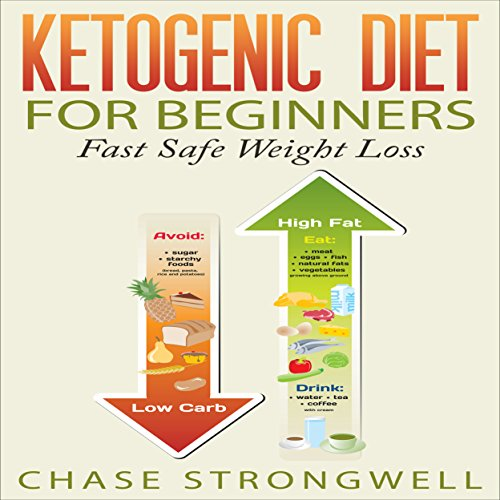Ketogenic Diet for Beginners: Fast Safe Weight Loss audiobook cover art