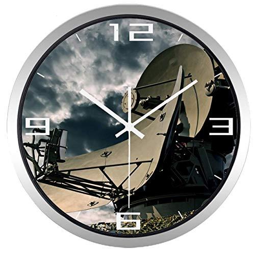 LIUFUHAON Real Shot Ground Radar wandklok woonkamer fan van avondgarderobe wandklok huis - B594S_12_inch