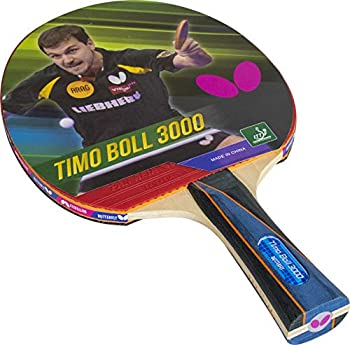 Butterfly Timo Boll Shakehand Ping Pong Paddle - Good Speed And Spin With Superb Control - Japan Series - Recommended For Beginning Level Players - International Table Tennis Federation Approved