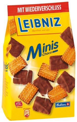 Leibniz Bahlsen Choco Minis - 125gr - 4x