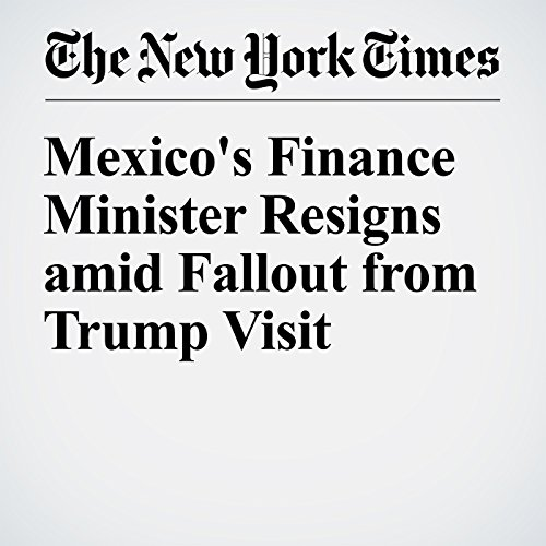 Mexico's Finance Minister Resigns amid Fallout from Trump Visit cover art