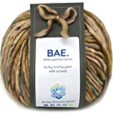 BAE by Living Dreams Yarn. Cuddly, Strong & Super Soft for Next to Skin Winter Knits. 100% Extrafine Merino Bulky Roving Yarn, Love Nest