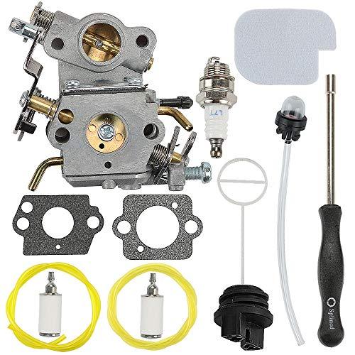 Mckin 545070601 PP4218A PP3816A Carburetor + Fuel Cap + Air Filter Adjustment Tool fits Poulan Pro PP3416 PP3516 PP3516AVX PP3816 PP4018 PP4218 PP4218AVX PPB3416 SM4218AV SM4218AVX Chainsaw