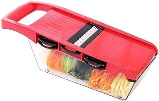 ZHTY Trancheur de légumes, 7 en 1 Multi-Fonction Food Slicer Slicer Grasseur Chopper Fruit et Fromage Trancheur de légumes...