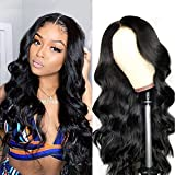Pelucas parte media lace front wigs pelucas mujer pelo natural humano largo peluca rizada 100% mujer onduladas pelucas de pelo humano remy 150% densidad 18 inch