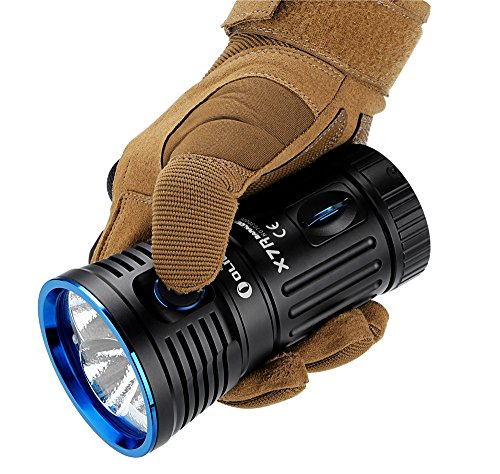 Olight Super Bright Powerful Torch X7R , LED 12000 Lumens, USB Type-C Fast Charger Port ,Your Best Camping Search Rescue Flashlight ,Black
