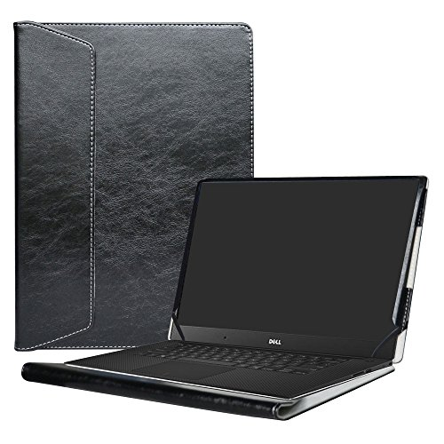Alapmk Protective Case Cover For 15.6' Dell XPS 15 9570 9560 9550/XPS 15 2 in 1 9575/Precision 2-in-1 5530/Precision 15 5530 Laptop(Note:Not fit older xps 15 9530 L501X L502X L521X),Black