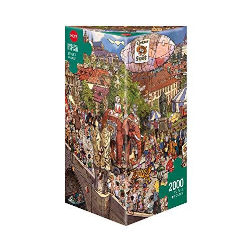 Heye Street Parade, Göbel & Knorr Puzzle, Brown