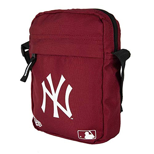 New Era Mlb Side New York Yankees Car Pochette de cou Homme Pochette de cou Homme Rouge (Dark Red), Taille Unique