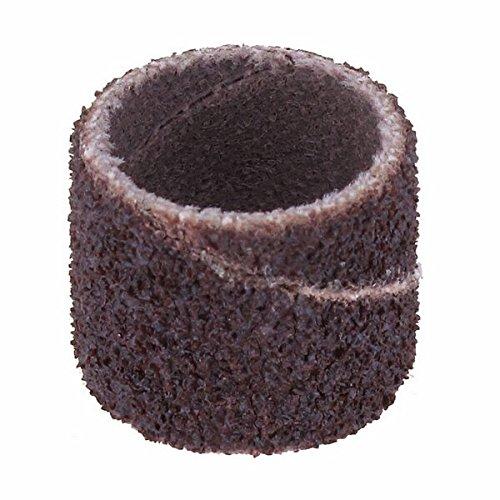 Dremel 408 schuurband (accessoireset voor multifunctioneel gereedschap met 6 schuurbanden 13 mm, korrel 60 voor het vormgeven en ebben van hout, kunststof, glasvezel etc.)