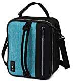 OPUX Premium Insulated Lunch Box for Men, Women   School Lunch Bag for Boys, Girls, Kids   Compact Adult Lunch Pail Work Office Cooler   Soft, Leakproof, 4 Ways to Carry   Fits 12 Cans (Turquoise)