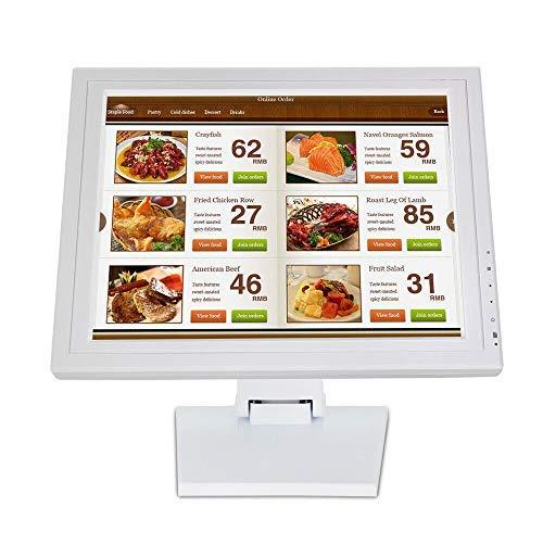 15'Monitor Touchscreen Schermo UN LED per Computer VGA POS Cassiere Ristorante Bar Caffè Ciambella Negozio Menu Ordine Punto di vendita Graphic Designer Disegnare Schizzi