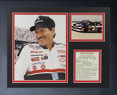 Dale Earnhardt Jr NASCAR Auto Racing Framed 8x10 Photograph Getting Out of Car