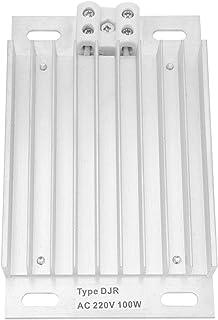 YOPOTIKA Djr- 100W 220V Aluminium Element Heater Voor Power Systeem Apparatuur Sliver