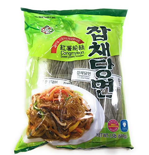assi Sweet Potato Noodles, Jabchae, 1.5 Pound