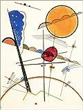Poster 50 x 70 cm: Wachsen von Wassily Kandinsky -