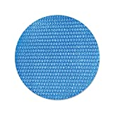 HEcSHENG Cubierta Solar para Piscina, Película De Aislamiento Térmico con Burbujas De Protección UV, Lona De PE A Prueba De Polvo para Suelo Familiar Piscina para Interior Y Exterior,12ft