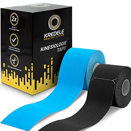 DERMATEST - Kredele® Kinesiotapes - [2] Rollen Kinesiologie Tape - Aufbewahrung