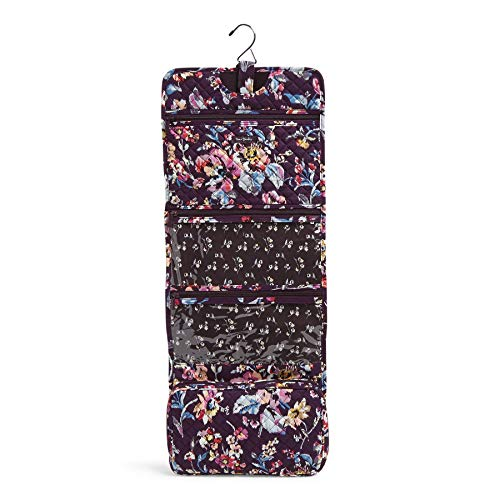 Vera Bradley Signature Cotton Hanging Travel Organizer, Indiana Rose