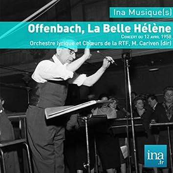 Jacques Offenbach : La Belle Hélène