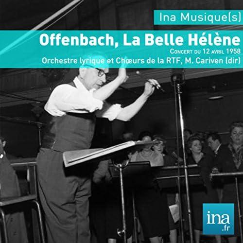 Marcel Cariven & Orchestre Lyrique de la RTF