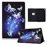 Wigento Für Huawei MatePad T10 / T10s 2020 Motiv 7 Tablet Tasche Kunst Leder Hülle Etuis