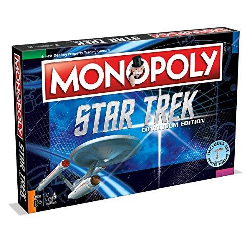 Monopoly - Star Trek Continuum Brettspiel Gesellschaftsspiel Spiel Englisch NEU