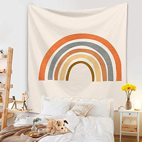 KHKJ Nuevo Tapiz de Hojas de Sol, cabecero de Pared, Colcha de Arte, Tapiz de Dormitorio para Sala de Estar, Dormitorio, decoración del hogar A8 95x73cm