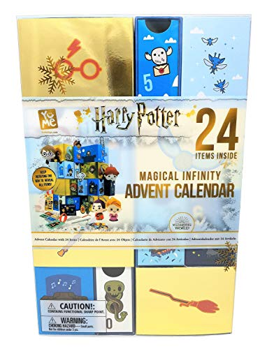 Wizarding World - Harry Potter/Fantastic Beasts- Harry Potter Magical Infinity Advent Calendar Calendario de Adviento, Multicolor (Kids@Play Ltd 19136)