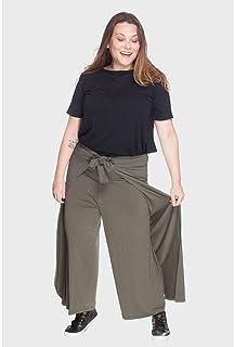 Calça Pantalona Envelope Plus Size