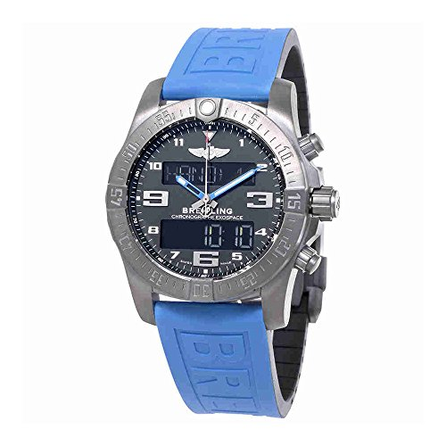 Breitling Exospace B55 Connected Blue Rubber Reloj para hombre VB5510H2-BE45BLPD3