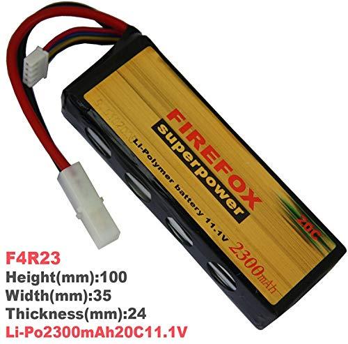 Check Out This Part & Accessories 1pcs 100% Orginal FireFox 11.1V 2300mAh 20C Li Po AEG Airsoft Batt...
