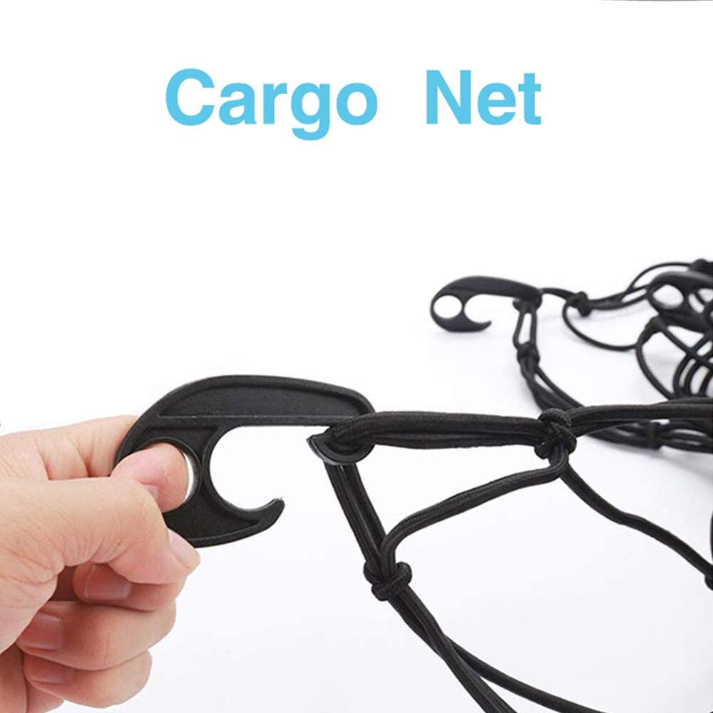 Bungee Sale item Net Popular products Cargo 120x90cm 12 Mesh Elastic Ne Car Hooks