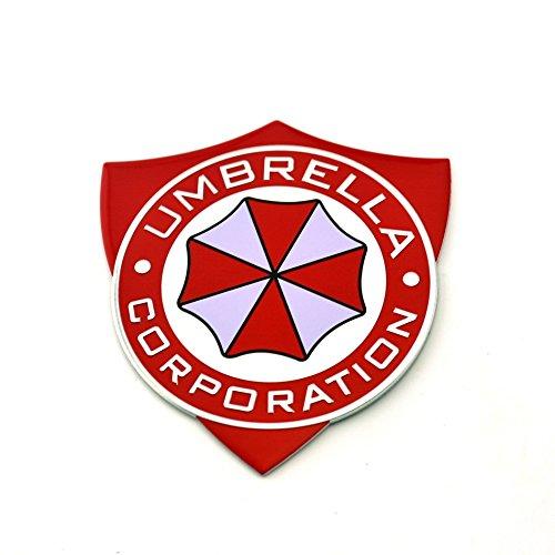 Umbrella Corporation Schild Resident Evil Metall Auto Aufkleber Abzeichen Decal