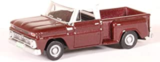 Oxford Diecast 87CP65003 Chevrolet Stepside Pick Up 1965 Maroon Metallic 1:87 Scale Model