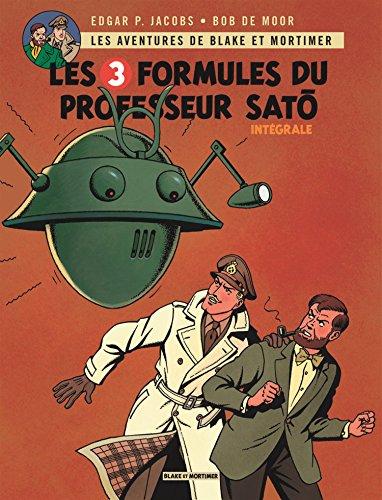 Blake & Mortimer - Intégrales - tome 5 - Les 3 Formules du Professeur Satō - Intégrale complète
