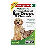 <span class='highlight'>Vetzyme</span> Pet Anti-bacterial Ear Drops & Cleanser 18ml